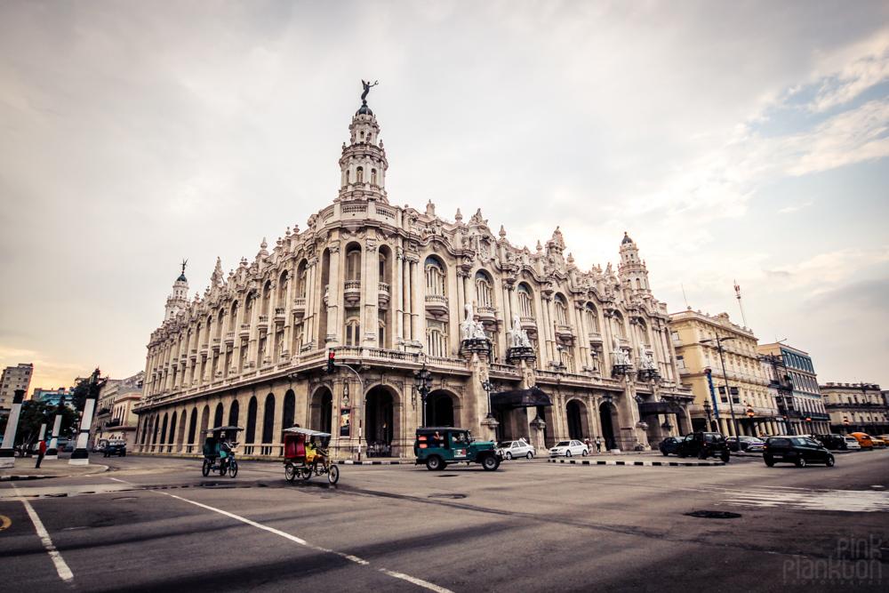 colonial architecture in Havana Cuba