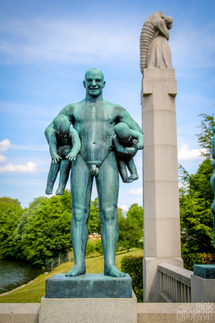 Vigeland Sculpture Park in Oslo