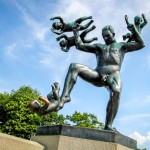 Norway's Naked Angry Sculpture Park