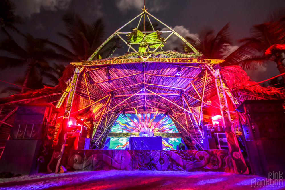 Global Stage at Tribal Gathering Festival