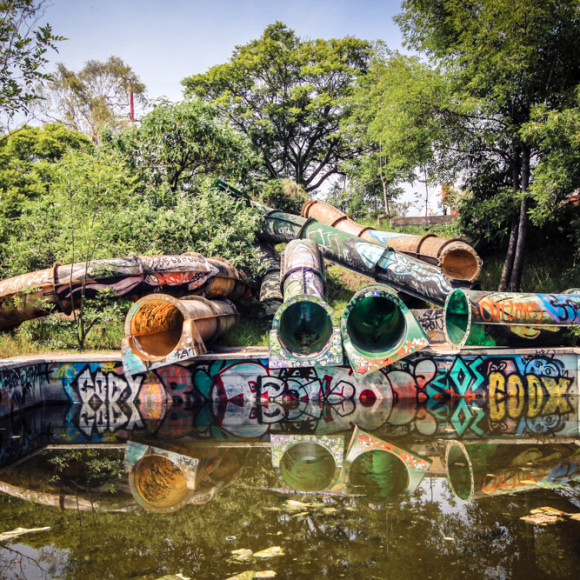 Atlantis: Mexico City's Abandoned Water Park