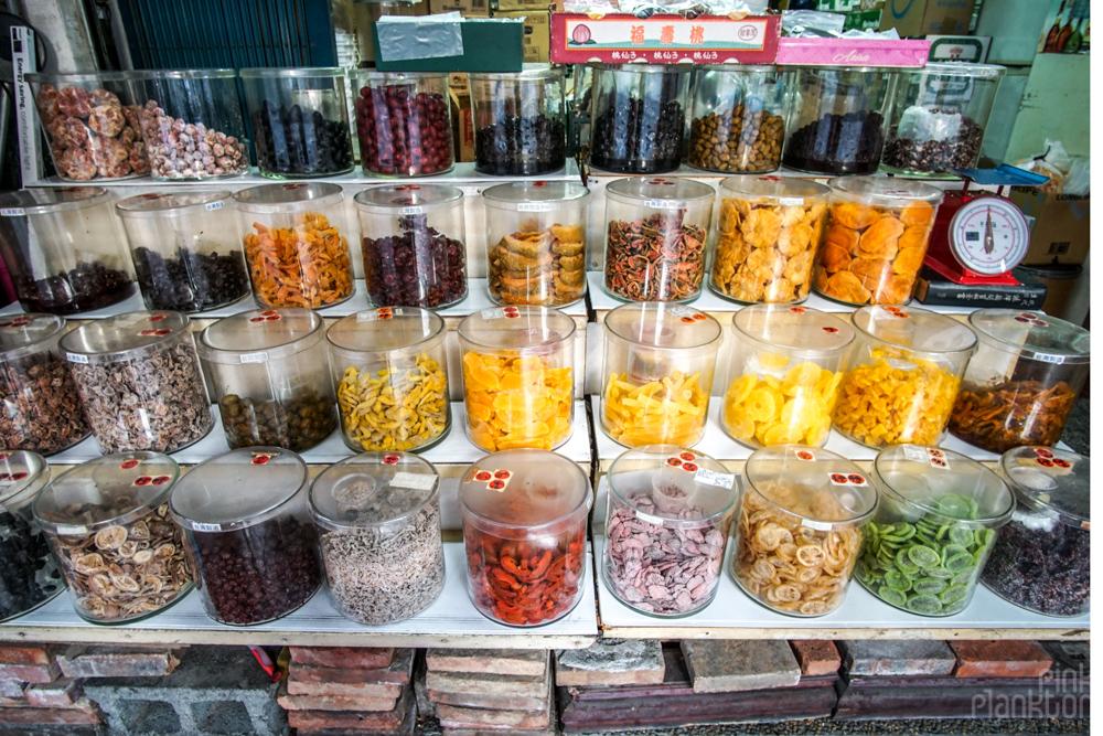 market in Taipei, Taiwan