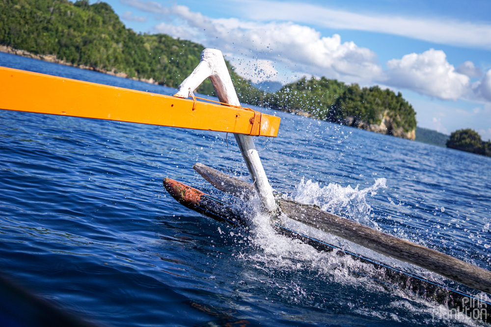 boat trip through the Togean Islands