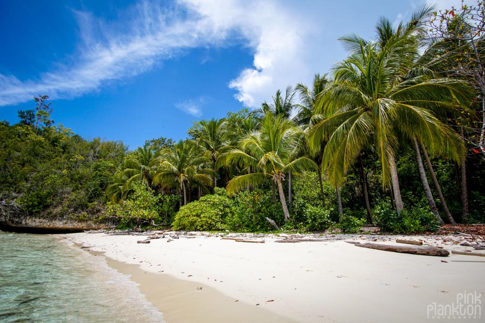 hidden beach near Katupat village, Togean Islands