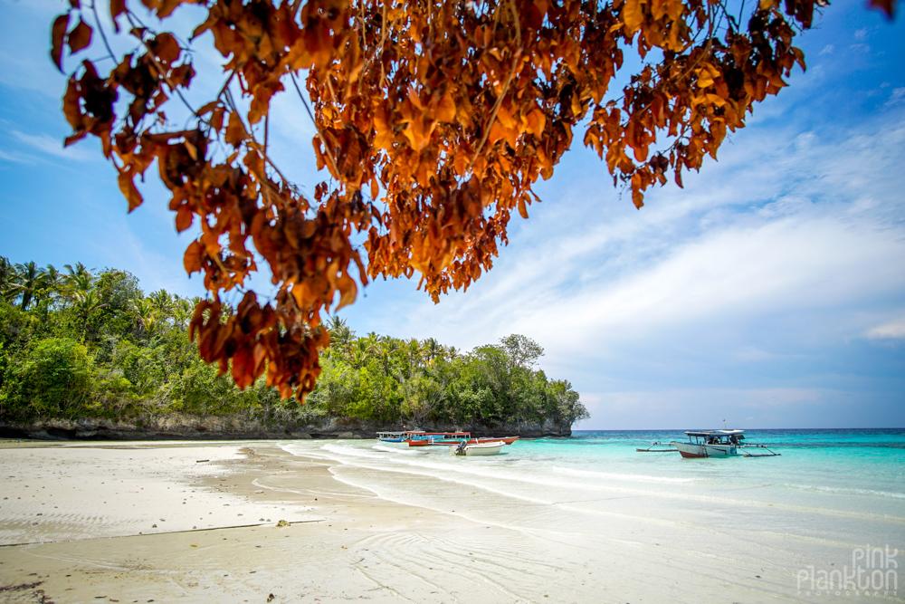 Sera Beach in the Togean Islands