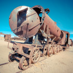 Eerie Photos of Bolivia's Abandoned Train Cemetery