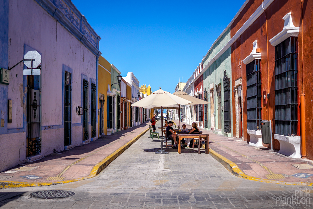 colorful streets of Campeche