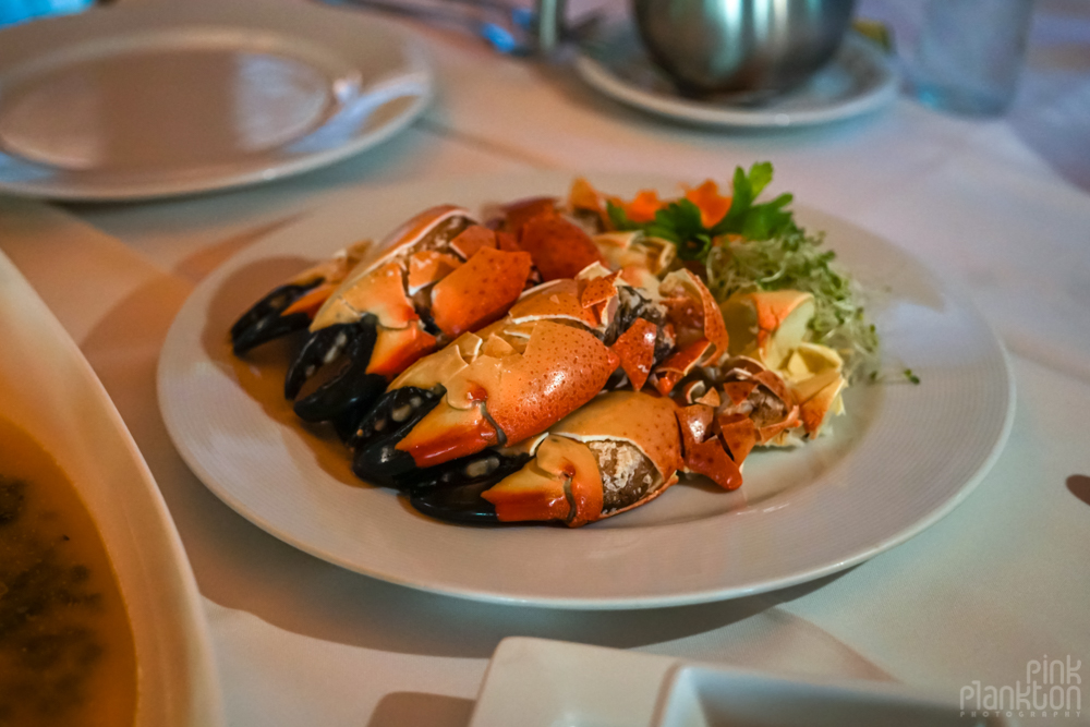 Campeche crab claws manos de congrejos