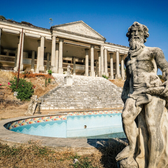 The Parthenon of El Negro: An Abandoned Corrupt Cop's Mansion