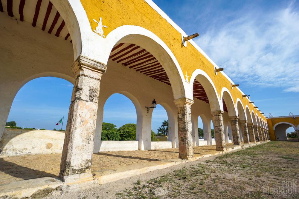 fort in Izamal Mexico