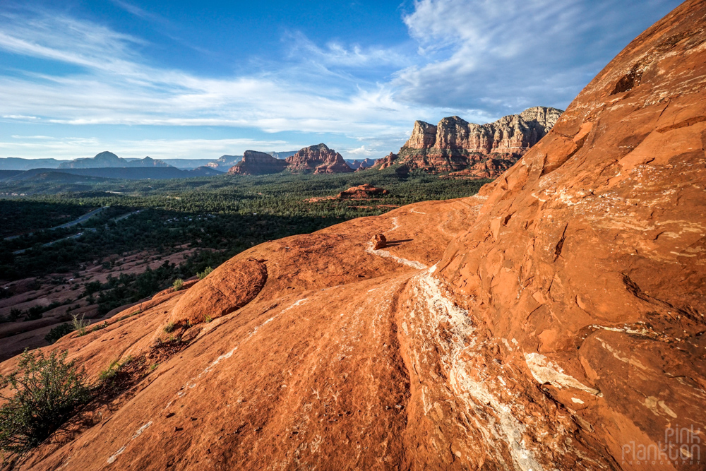 view from Bell Rock in Sedona